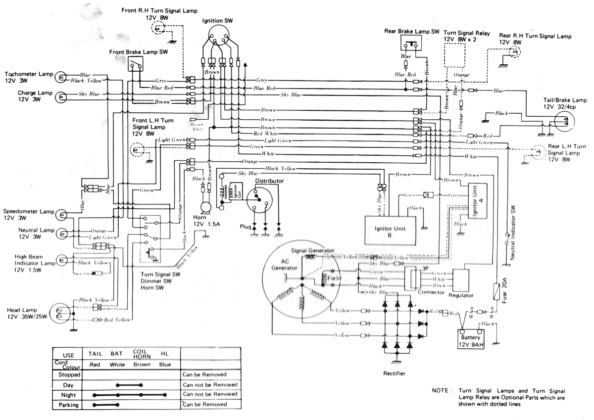 1973 kawasaki 900 wiring diagram  electrical  auto wiring